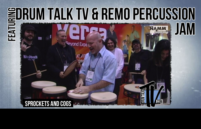 DTTV Remo Percussion JAM at NAMM14