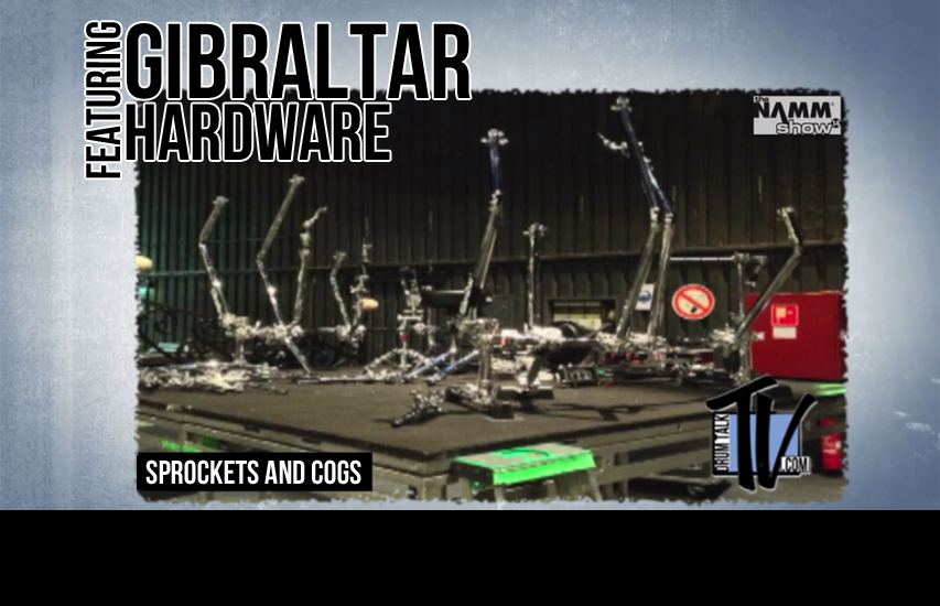 Gibraltar Hardware at NAMM 2014 on Drum Talk TV