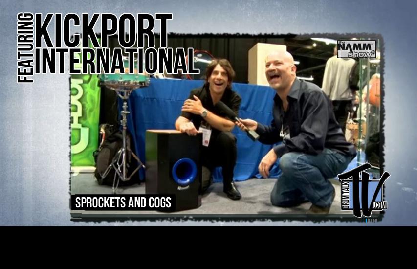 KickPort at NAMM14 on Drum Talk TV