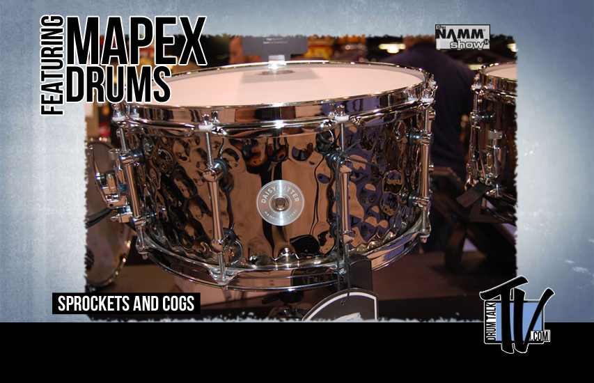 Mapex Drums at NAMM14 on Drum Talk TV