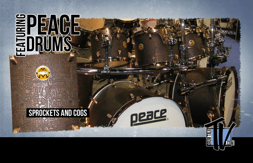 Peace Drums at NAMM14 on Drum Talk TV