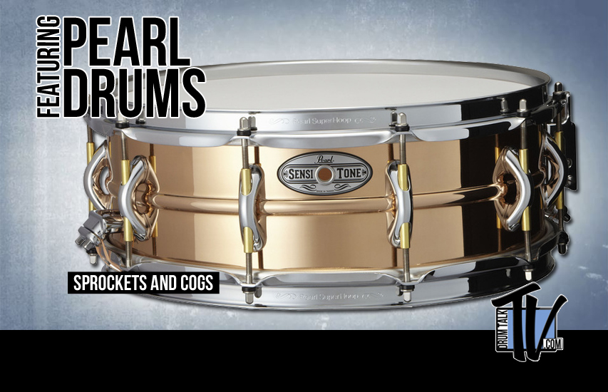 Pearl Drums at NAMM 2014 on Drum Talk TV