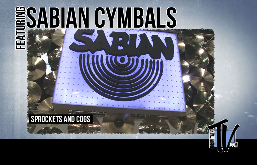 Sabian Cymbals NAMM 14 on Drum Talk TV