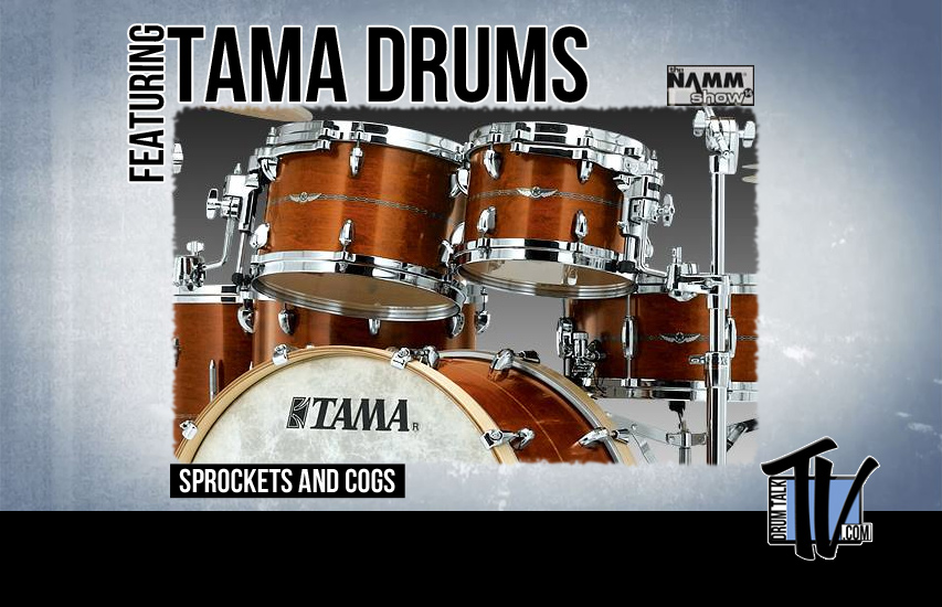 Tama Drums at NAMM14 on Drum Talk TV