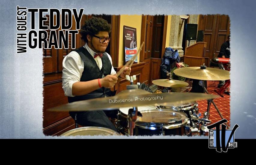 Teddy Grant on Drum Talk TV