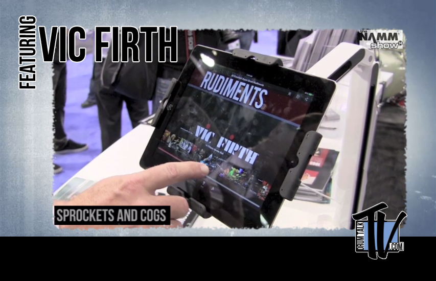 Vic Firth at NAMM 14 on Drum Talk TV