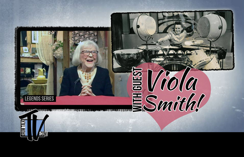 Viola Smith 102-yr-old Drummer on Drum Talk TV!
