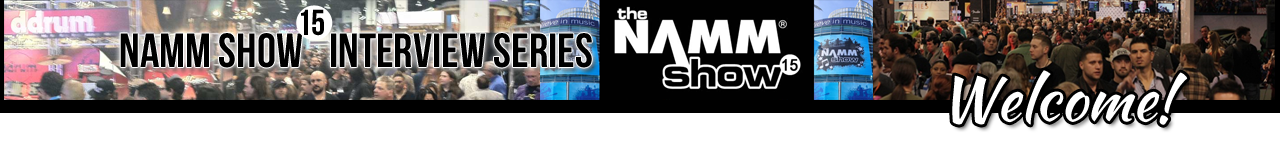 NAMM 2015 Interview Series on Drum Talk TV