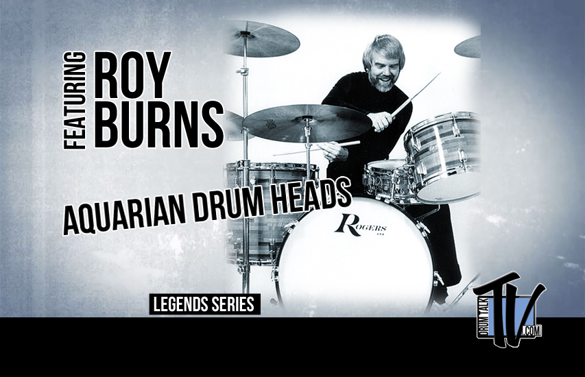 Aquarian Drum Heads' Roy Burns on Drum Talk TV