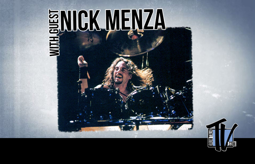 Nick Menza on Drum Talk TV