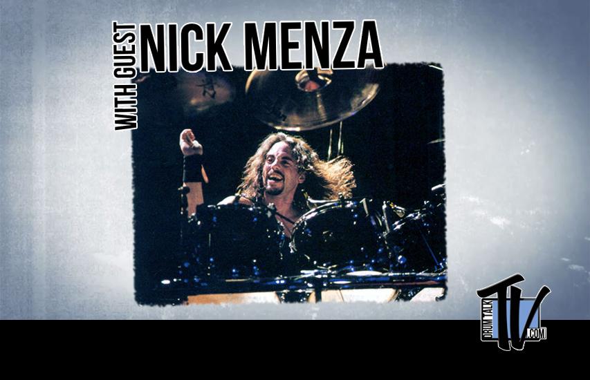 Nick Menza on Drum Talk TV
