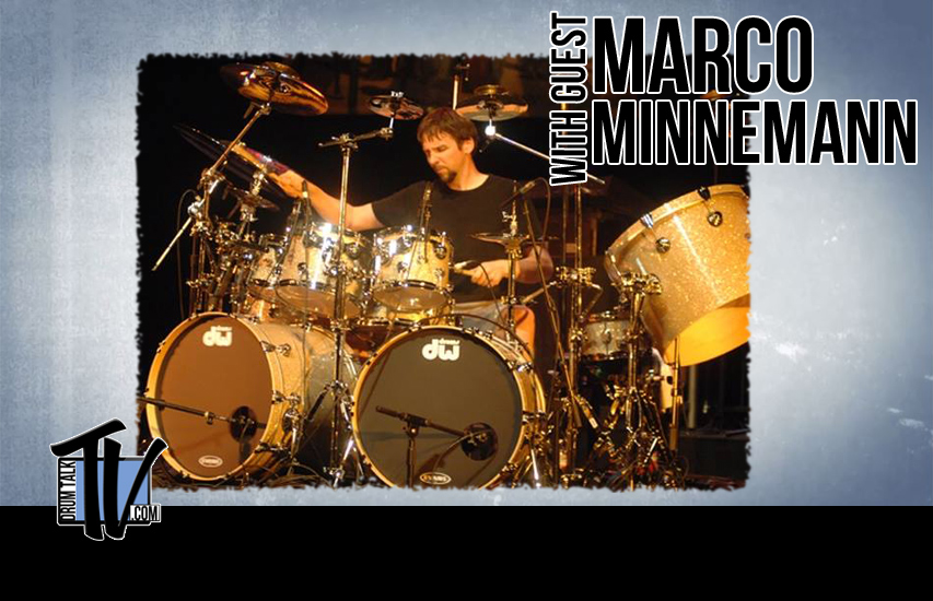Marco Minnemann on Drum Talk TV