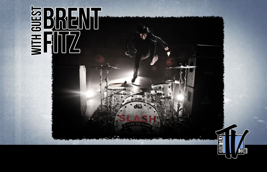 Brent Fitz (Slash) on Drum Talk TV