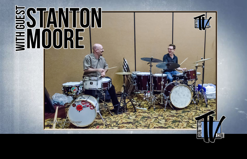 Stanton Moore on Drum Talk TV