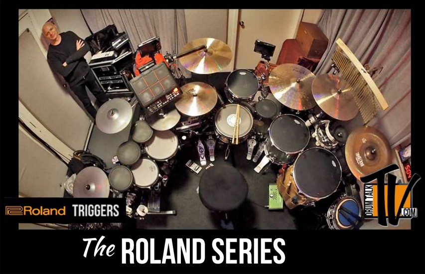 The Roland Series on Drum Talk TV