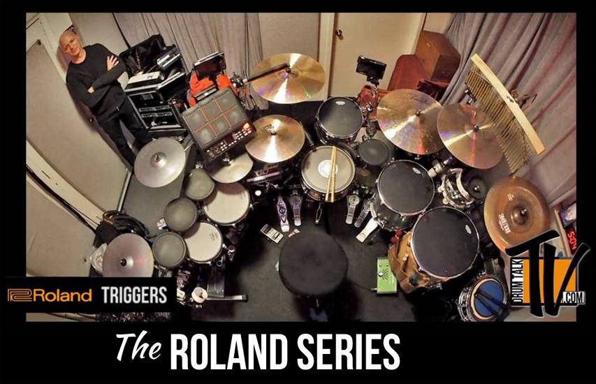The Roland Series on Drum Talk TV