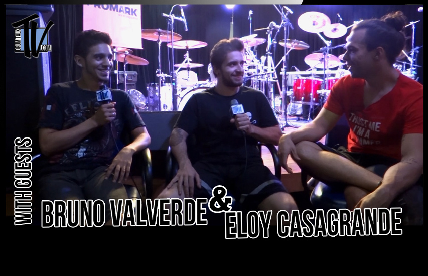 Bruno Valverde and Eloy Casagrande on Drum Talk TV wtih Correspondent Betto Cardoso