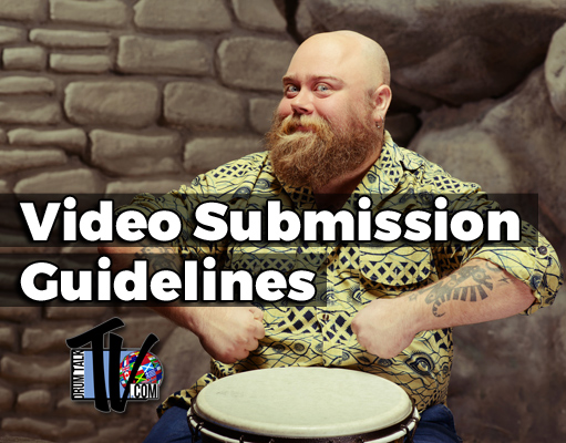 Drum Talk TV Video Submission Guidelines