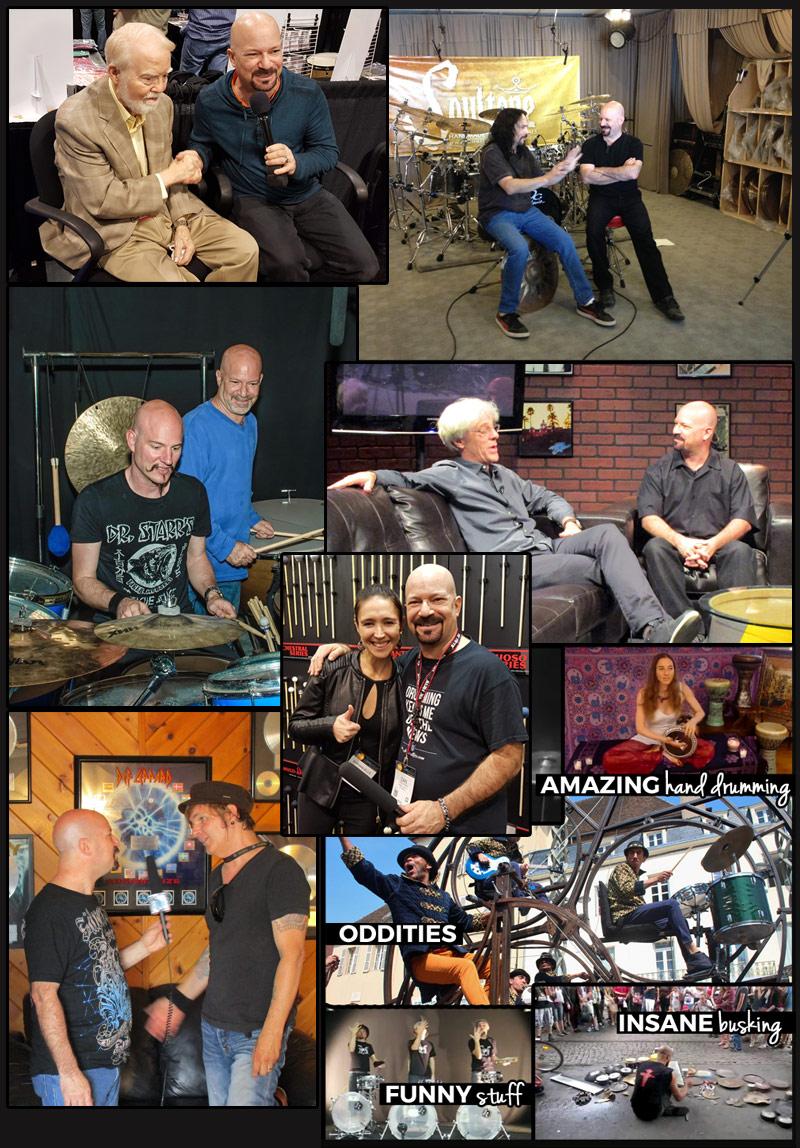 Drum Talk TV Interviews